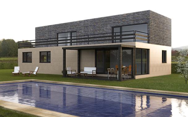 Cube 250 m2 - Casas modulares cube ...