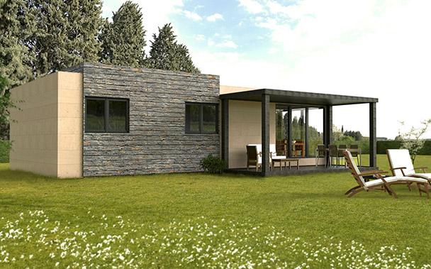 Casas modulares prefabricadas cube cube 150 - Cube casas prefabricadas ...