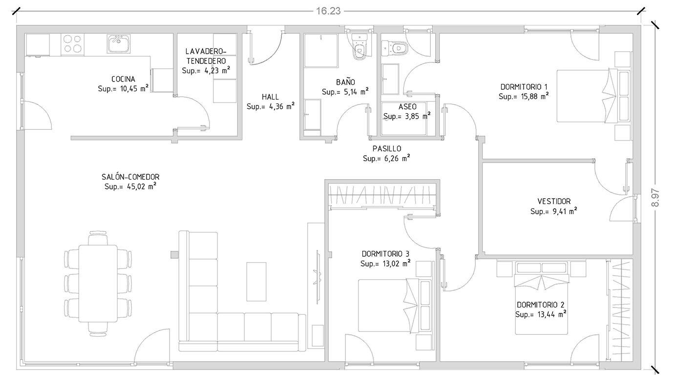 cube 150 | casas prefabricadas y modulares cube