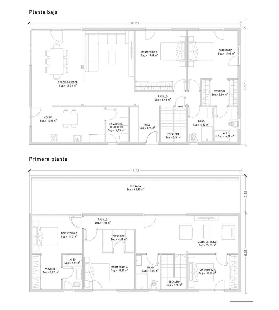 Cube 250 m2 - 5 dormitorios