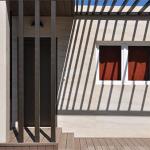 Casa Cube de 100 m2 - Porche delantero