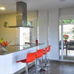 Cocina casa modular de 150 m2