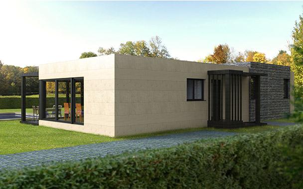 Cube 100 m2 casas prefabricadas y modulares cube - Cube casas prefabricadas ...