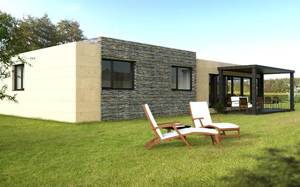 Cube 150 casas prefabricadas y modulares cube - Cube casas prefabricadas ...