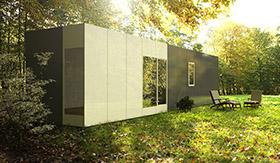 Casa modular Cube Basic de 36 m2