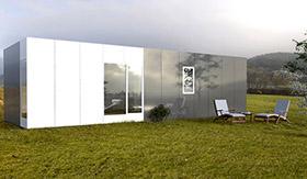 Casa modular Cube Basic de 50 m2