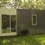 Casa prefabricada Cube Basic 36, vista trasera
