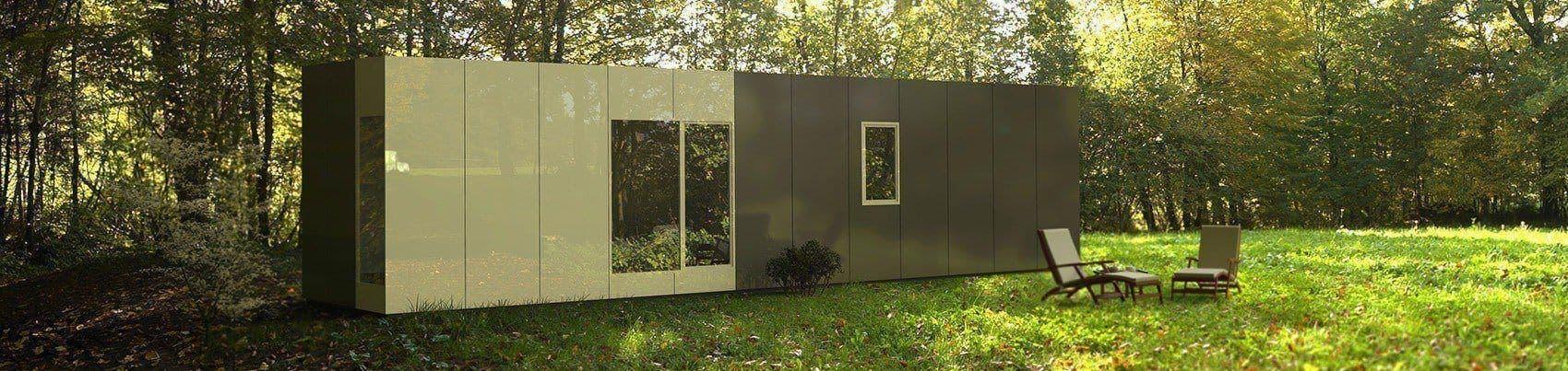 Cube basic 36 casas prefabricadas y modulares cube - Cube casas prefabricadas ...