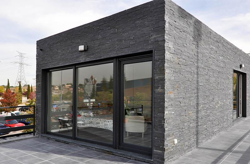 La importancia del cristal en las casas cube casas - Cube casas prefabricadas ...