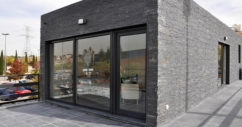 Casa prefabricada piloto Madrid - Terraza