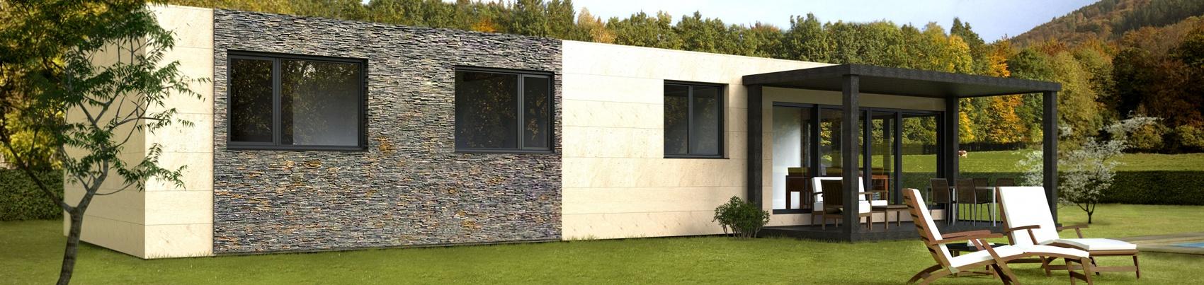 Cube 100 casas prefabricadas y modulares cube - Casa prefabricada asturias ...