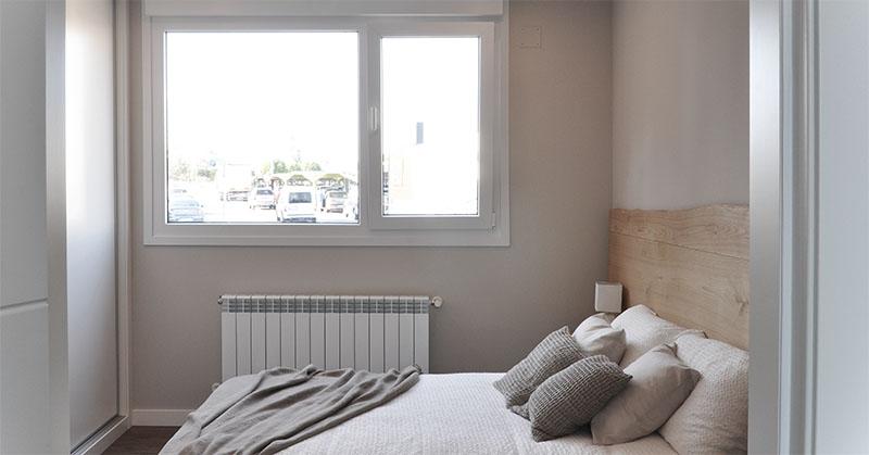 Casa prefabricada piloto Asturias - Dormitorio principal