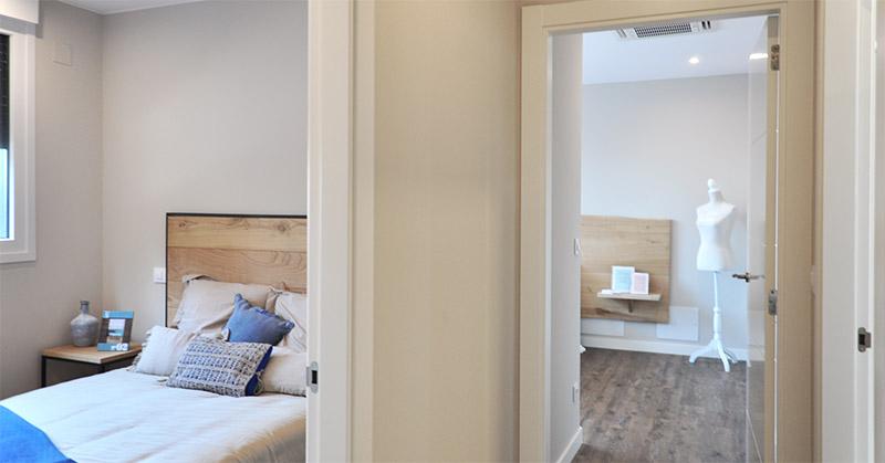 Casa prefabricada piloto Asturias - Dormitorios