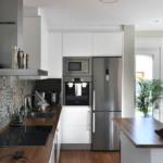 Cocina de casa prefabricada Cube 157 m2