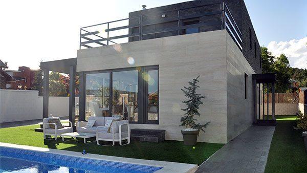 Casas instaladas casas prefabricadas y modulares cube - Casas prefabricadas hormigon barcelona ...