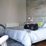 Dormitorio de casa prefabricada Cube 157 m2