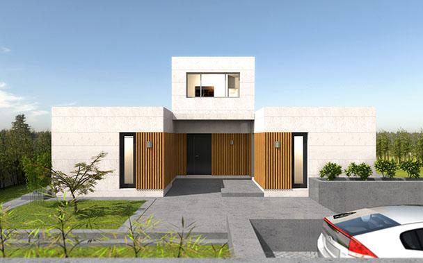 Cube premium 200 casas prefabricadas y modulares cube - Cube casas prefabricadas ...