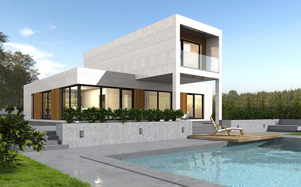 Casa prefabricada Cube Preimum 200