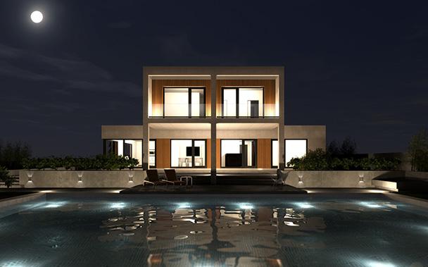 Cube premium 300 m2 casas prefabricadas y modulares cube - Cube casas prefabricadas ...