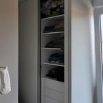 Vestidor en casa prefabricada Cube 157 m2