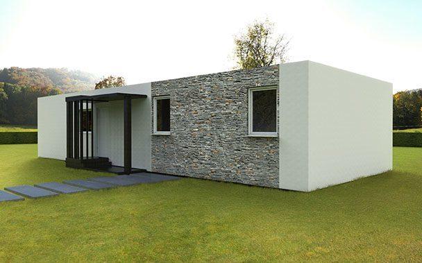 Modelos basic casas prefabricadas y modulares cube - Cube casas prefabricadas ...