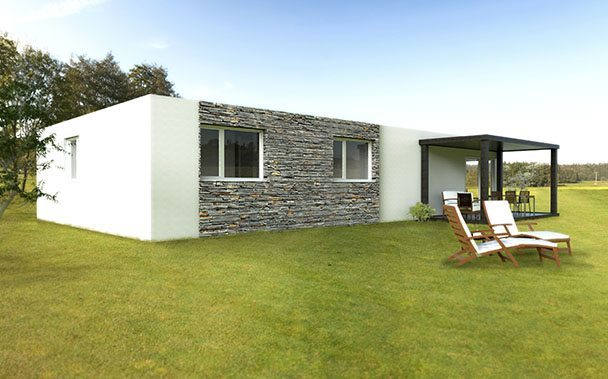 casa prefabricada basic 150m