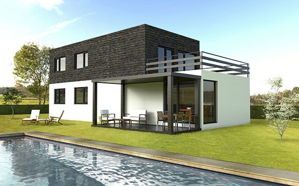 Casa prefabricada 175 m2