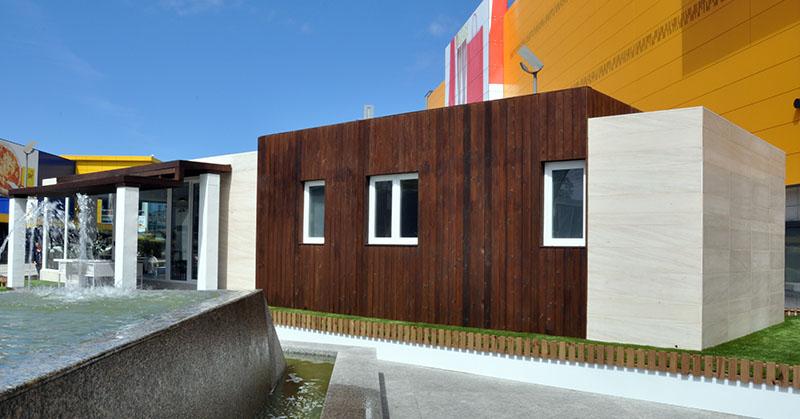 Casa piloto cube en a coru a casas prefabricadas y Casas prefabricadas coruna