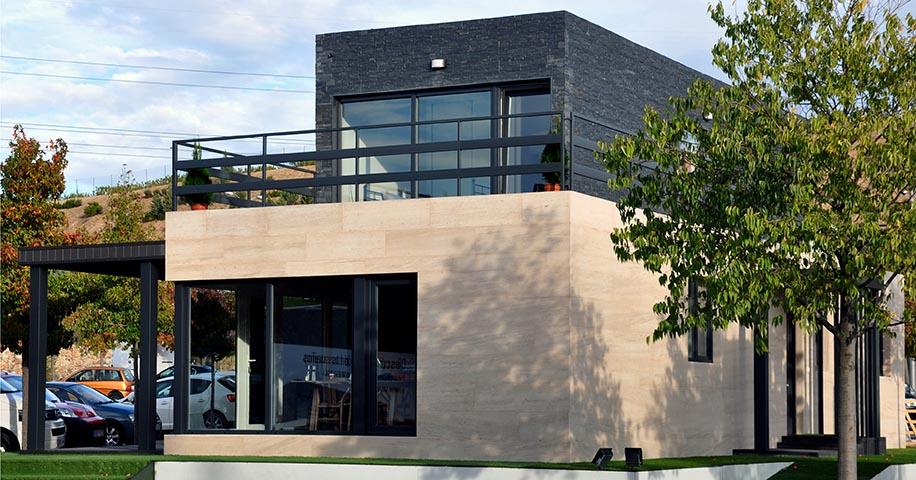 Casa prefabricada Cube, casa piloto en Madrid