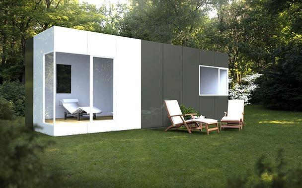 M dulo basic 24 casas prefabricadas y modulares cube - Casas prefabricadas modulos ...