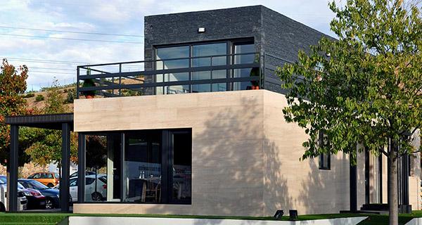 As es la nueva casa piloto de cube en madrid xanad - Casas modulares madrid ...