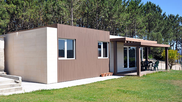 C mo se instala una casa cube casas prefabricadas y - Casas prefabricadas cube ...