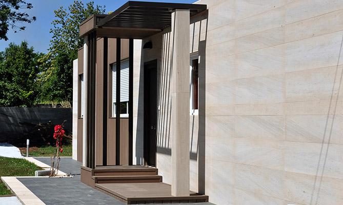 Casas prefabricadas Cube - Fachada