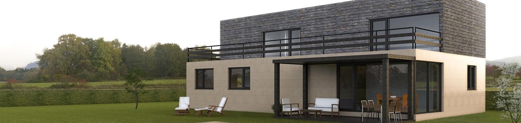 Casas prefabricadas y modulares cube for Construccion modular prefabricada