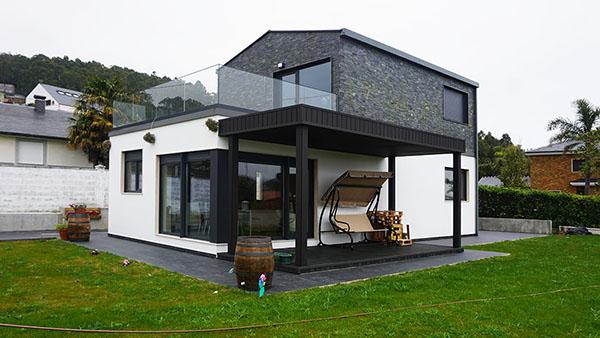 Casas instaladas casas prefabricadas y modulares cube - Casas de acero prefabricadas ...