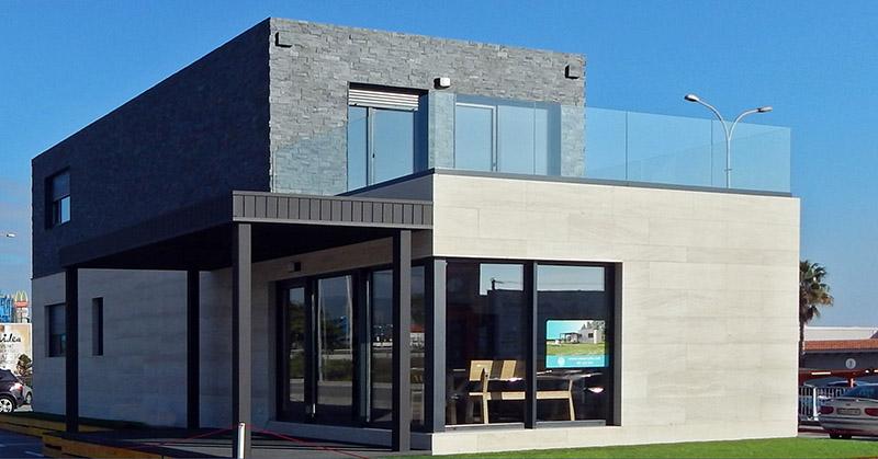 Casa Piloto Cube En Barcelona Casas Prefabricadas Y