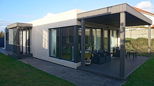 Casa prefabricada Cube 112