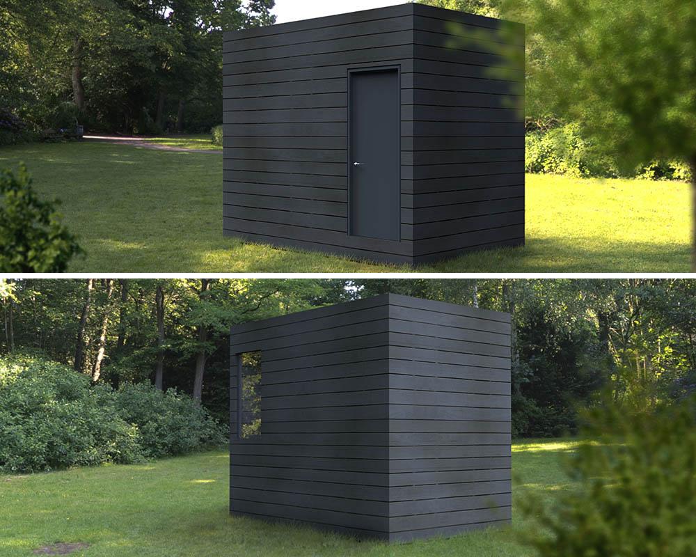 Trastero prefabricado casas prefabricadas y modulares cube for Trasteros prefabricados precios