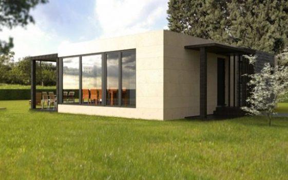 Cube 75 m2 casas prefabricadas y modulares cube - Cube casas prefabricadas ...