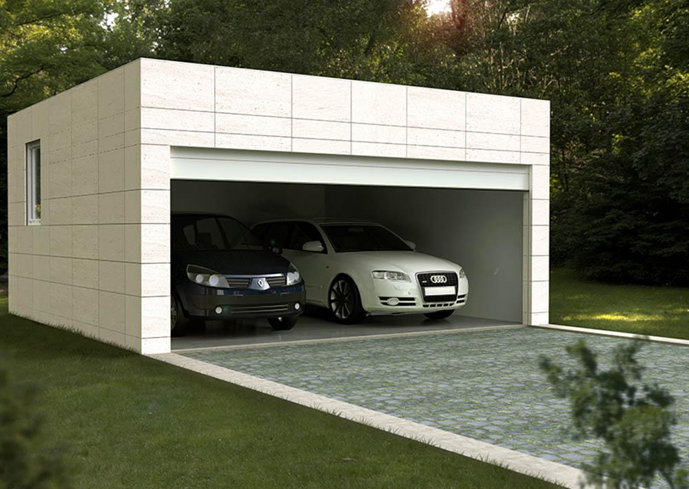Garajes prefabricados casas prefabricadas y modulares cube for Plaza de garaje huelva