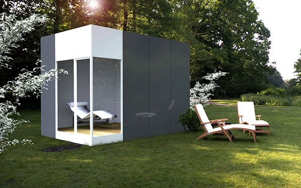 Módulo prefabricado basic 12 m2